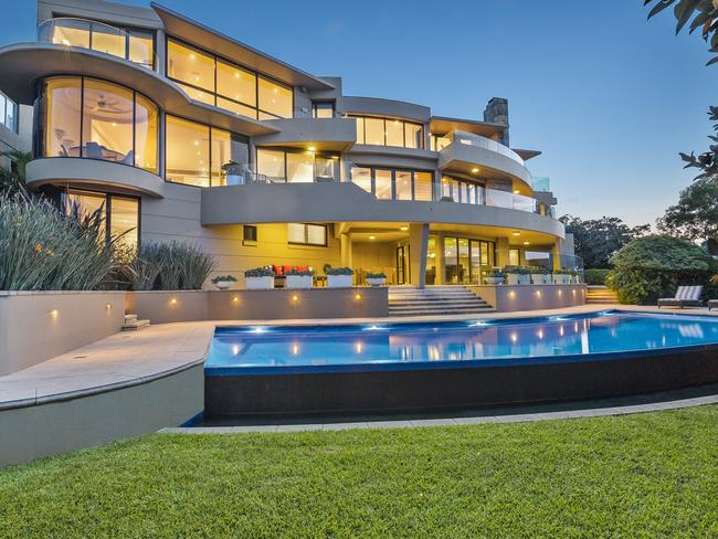 No. 1-3 Burran Ave, Mosman recently sold for a record price tag of somewhere between $23 million and $25 million.