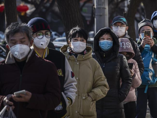 The total number of deaths from the coronavirus has risen to 1770. Picture: Kevin Frayer/Getty Images