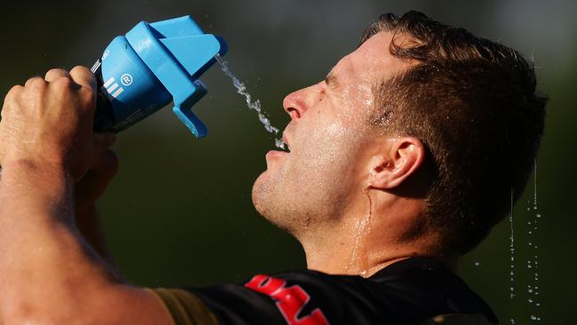 Trent Merrin is a key signing for Penrith. Picture: Brett Costello