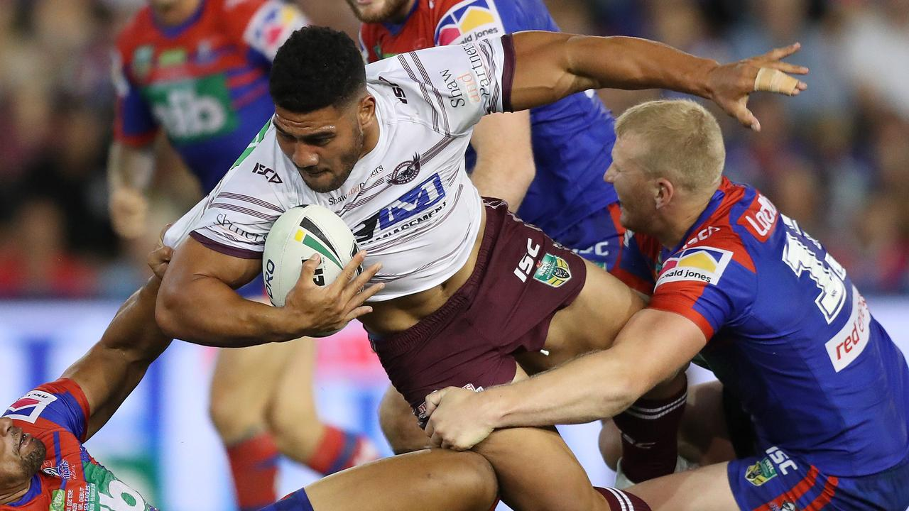 Manly's Kelepi Tanginoa has miraculously returned from an ACL injury.