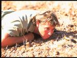 "Steve Irwin in a scene from the film ""The Crocodile Hunter: Collision Course"" ."