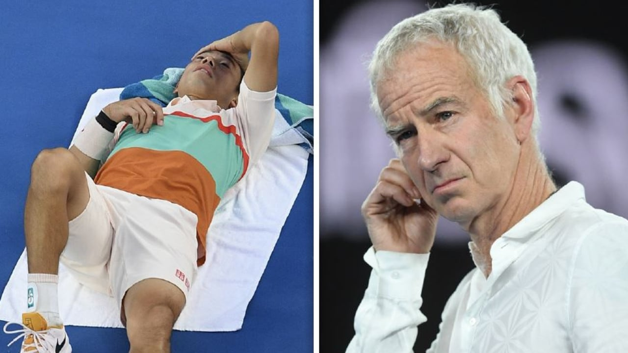John McEnroe wasn't impressed with Kei Nishikori.