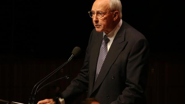 Paul Keating. Picture: Richard Dobson