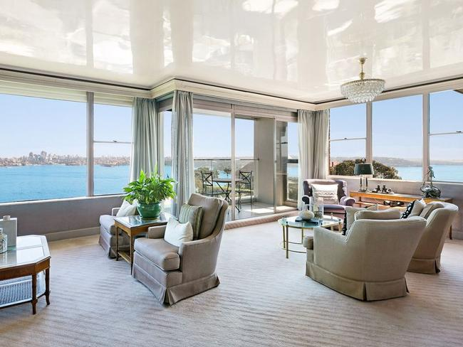 No. 13/8 Wentworth St, Point Piper (above and below) sold for more than $6 million.
