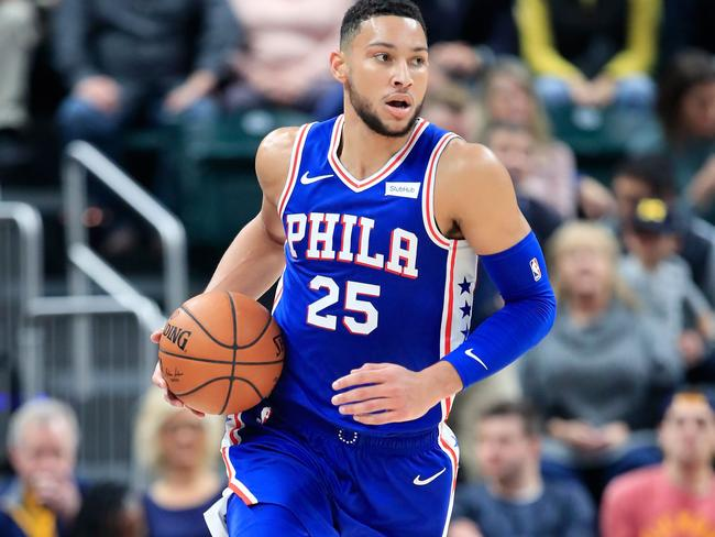 Ben Simmons and the Sixers are sitting third in the east.
