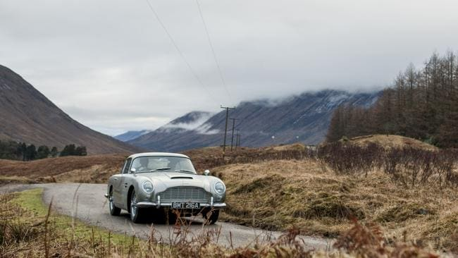 The Aston Martin DB5 from the 2012 movie  <i>Skyfall</i> (Photo: Supplied)