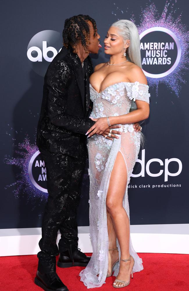 Rich The Kid and Antonette Willis. Picture: Getty