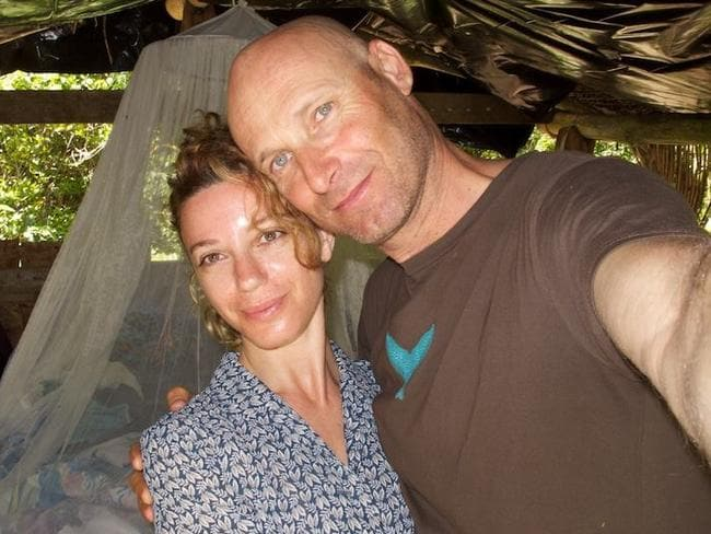 Ally Alegra and husband Erez Beatus. Picture: Supplied