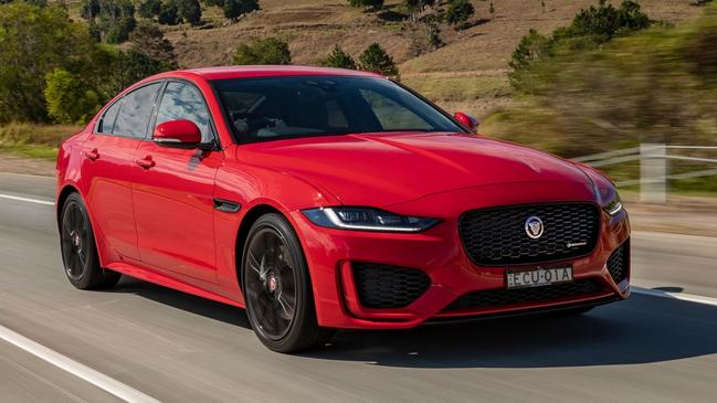 Jaguar has simplified its XE range.