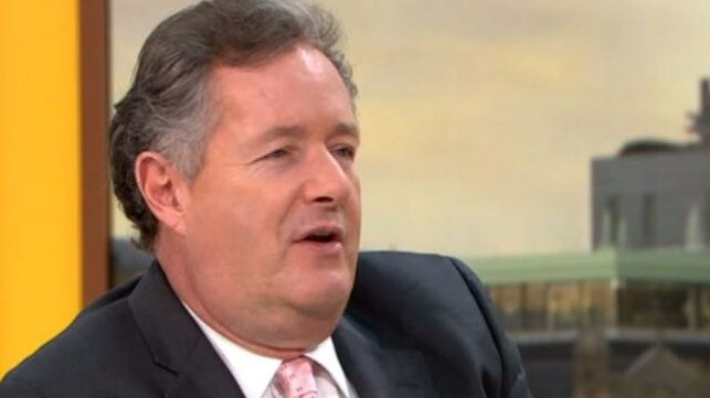 Host Piers Morgan also praised Greek-Cypriot model's eccentric look. Picture: ITV