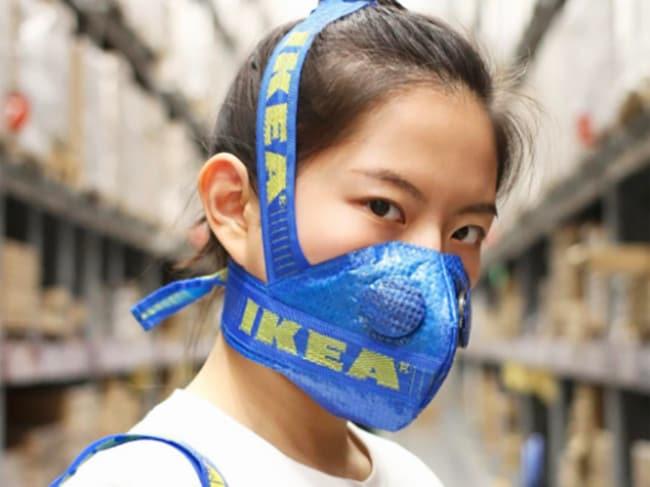 best loved 38728 a393e Yeezy 350 Boost Mask Maker Creates Ikea Bag Version - GQ