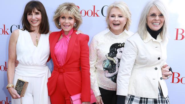 Mary Steenburgen, Jane Fonda, Candice Bergen and Diane Keaton at the premiere of Book Club.