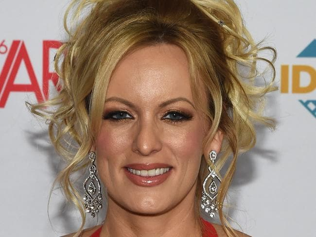 Porn star Stormy Daniels will appear on the Jimmy Kimmel Show on Tuesday. Picture: AFP