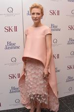 """Cate Blanchett attends the """"Blue Jasmine"""" New York Premiere. Picture: Getty"""
