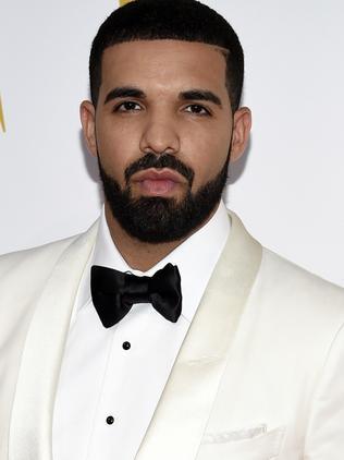 Drake. Picture: Evan Agostini