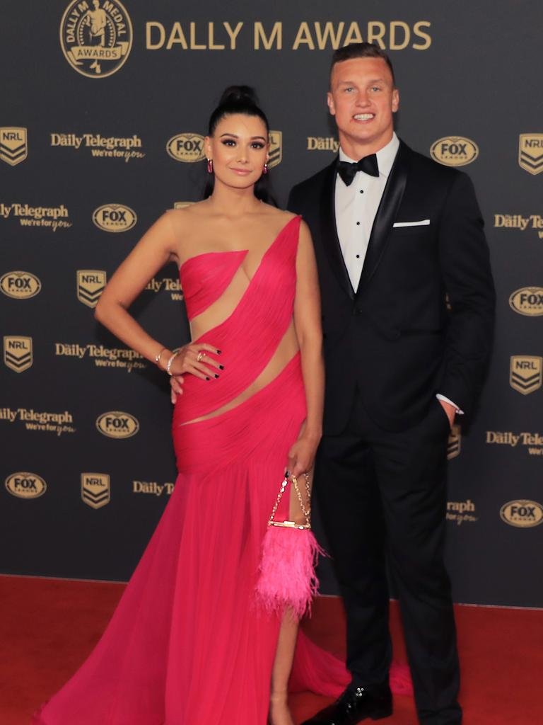 Wighton and Lew-Fatt are happily engaged..