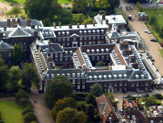 Kensington Palace features comforts fit for a royal family. Picture: Getty Images