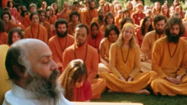 You can't make this shit up. Photo: 'Wild Wild Country'