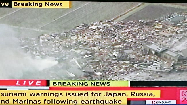 Powerful tsunami hits Japan after massive 8 8-magnitude earthquake