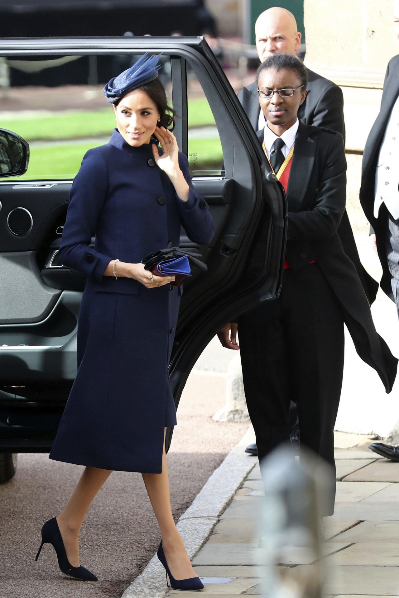 Meghan Markle wore her own wedding dress designer to Princess
