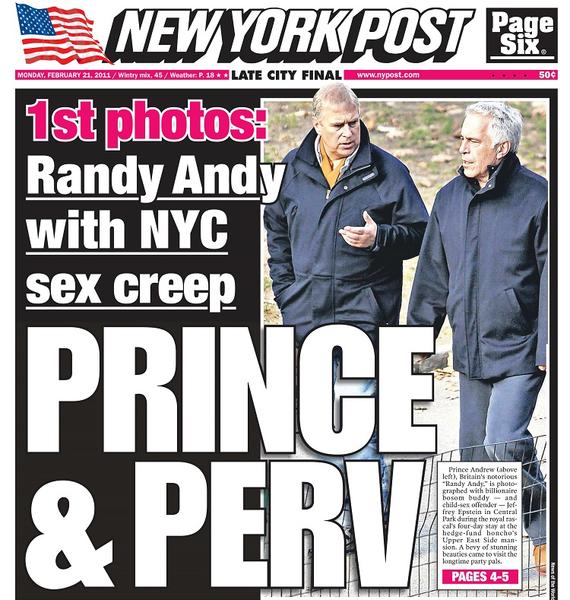 This was the story that reportedly ended Jeffrey Epstein's friendship with Prince Andrew.