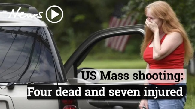 Mass Shooting in Maryland