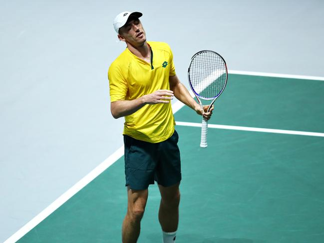 John Millman couldn't get Australia off to the start it needed.
