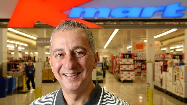 Guy Russo, who turned Kmart into a money making machine, left the retailer in November. Picture: Steve Tanner