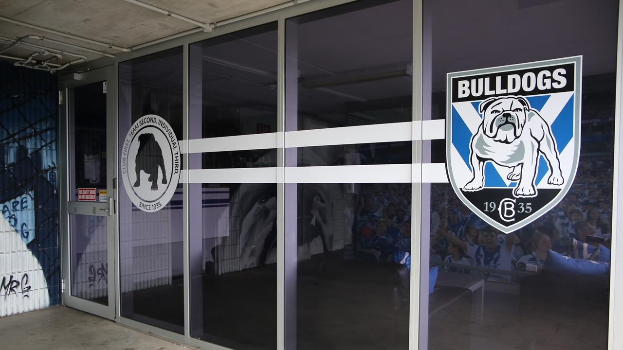 The Bulldogs' Belmore HQ has been hit by a blackout
