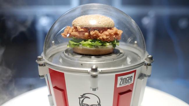 KFC sending burger to space