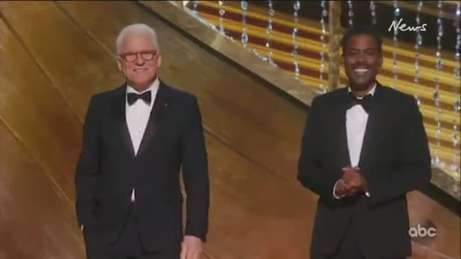 Oscars 2020: Steve Martin and Chris Rock crack a few jokes at Jeff Bezos