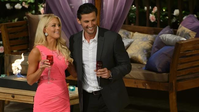 Ali Oetjen previously appeared on the 2013 season of  <i>The Bachelor </i>with Tim Robards. Picture: Network 10