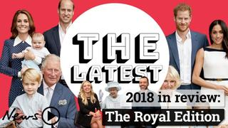 The Latest: 2018 in review - the Royal Edition