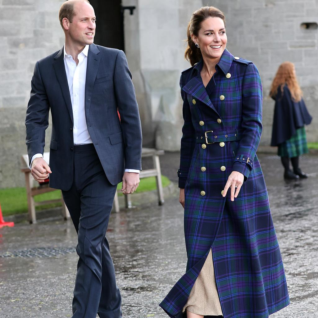 William and Kate during their visit to Scotland. Picture: Chris Jackson/Getty Images