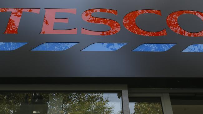 Supermarket giant Tesco has stopped production at a factory in China after one of its Christmas cards was found to contain a cry for help from a prisoner who made it. Picture: Kirsty Wigglesworth/AP