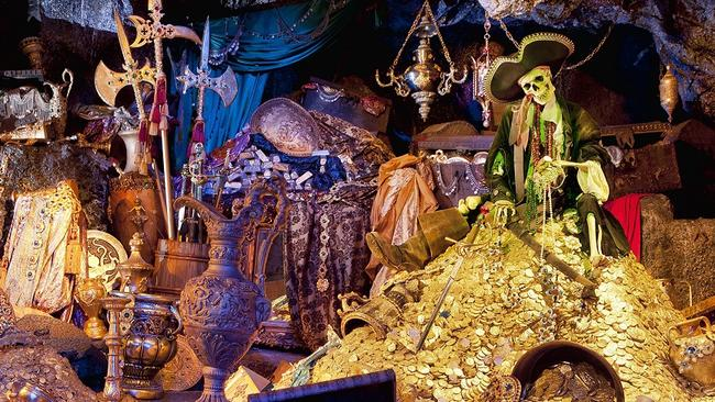 Part of the Pirates of the Caribbean attraction at Disneyland in Anaheim, California. Picture: Paul Hiffmeyer/Disneyland