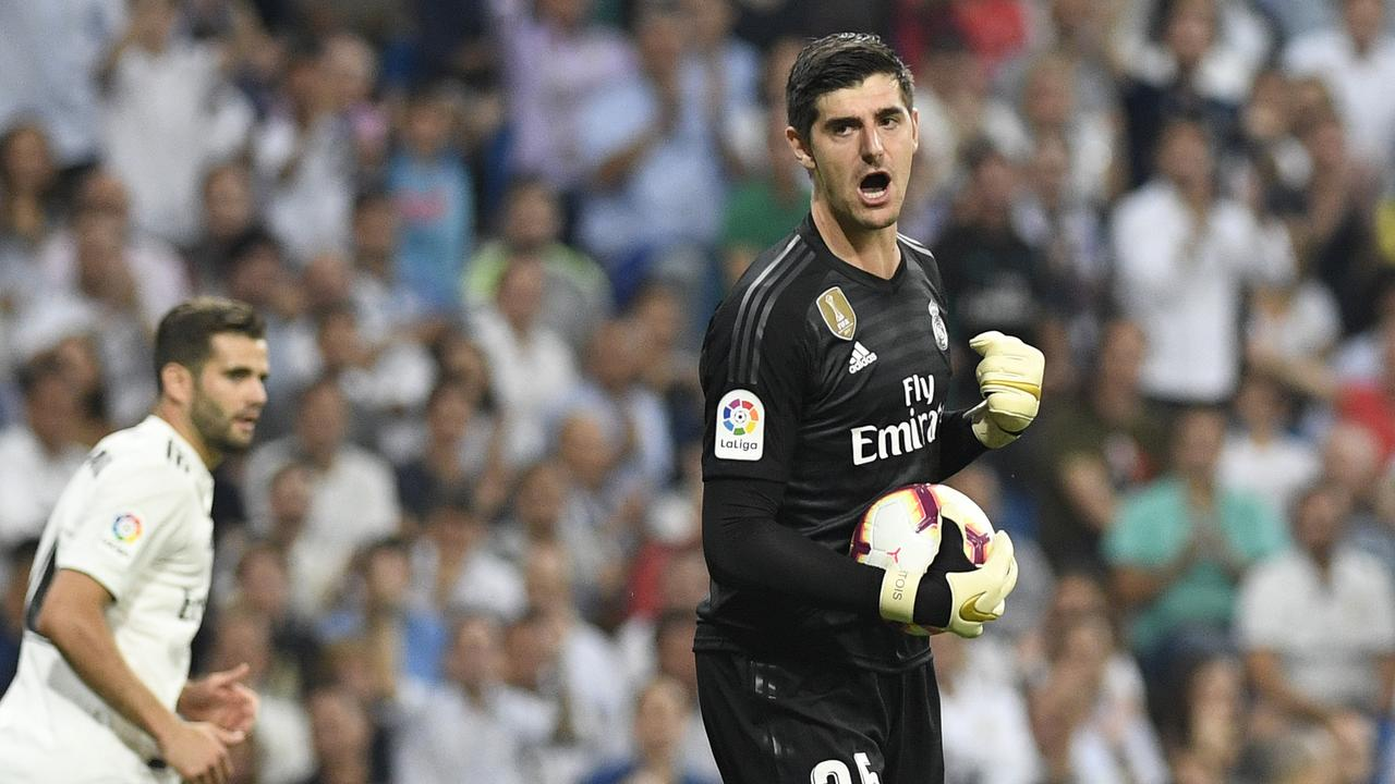 Thibaut Courtois previously played at Atletico Madrid.