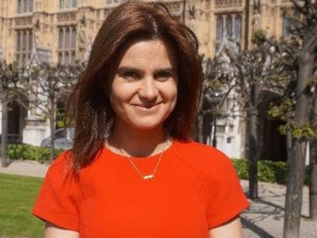 Jo Cox Labour MP for Batley & Spen. Picture: Twitter