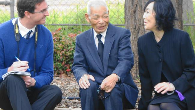 Special guest ... former Japanese POW, 94-year-old Teruo Murakami, will attend the 70th anniversary celebration of the Cowra breakout on August 5.