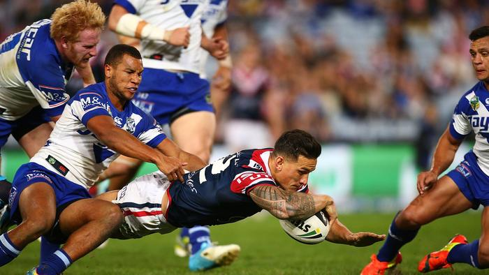 NRL Rd 11 - Bulldogs v Roosters 493290953