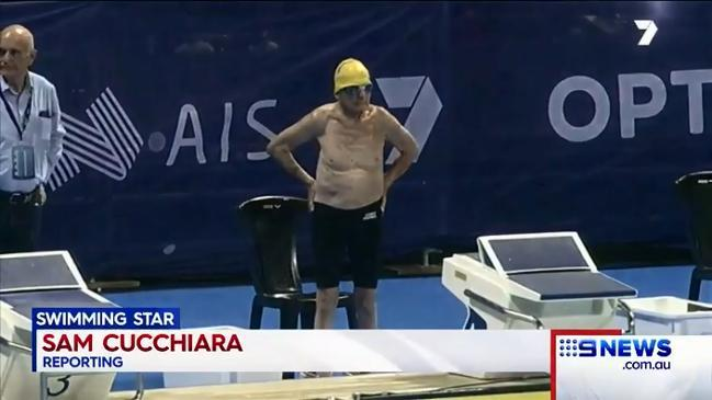99-year-old world record breaking swimmer George Corones