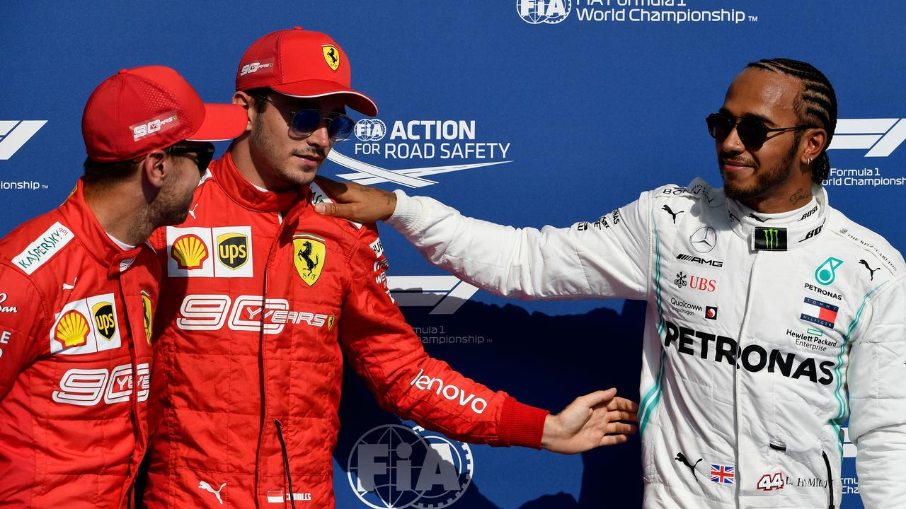 Who will partner Charles Leclerc in 2021?
