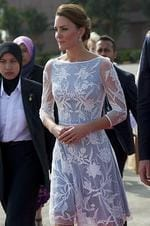 <p>Kate departs Kuala Lumpur airport for Sabah Maylasia. Picture: Getty</p>  <br />