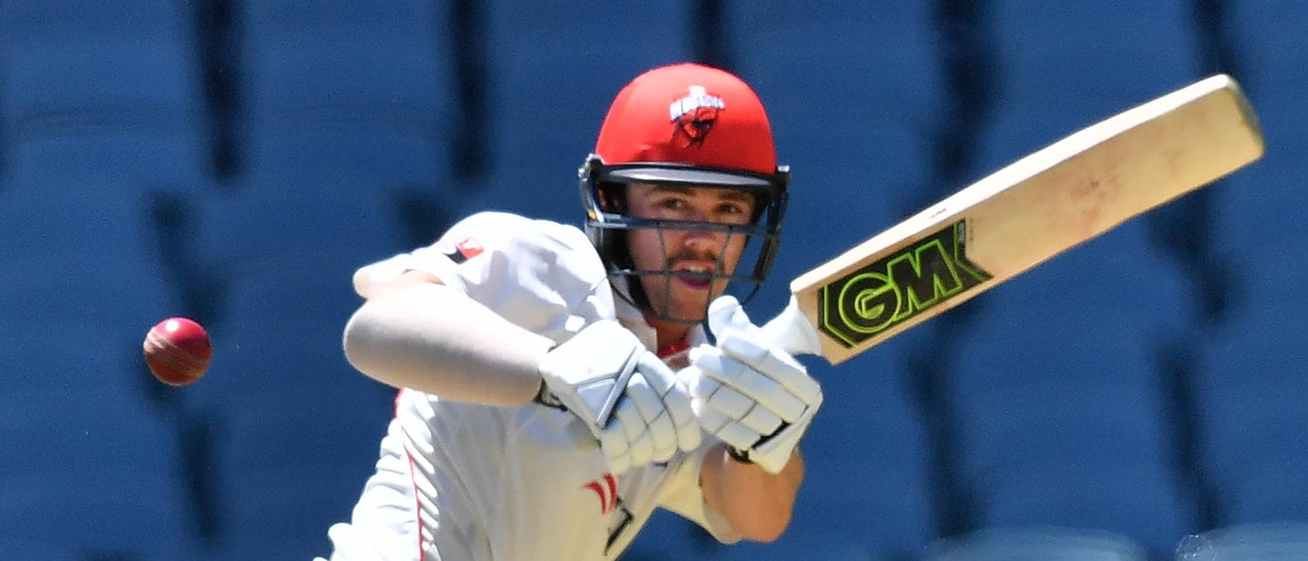 Travis Head of the Redbacks bats during day 1 of the round 4 JLT cricket match between South Australia and Western Australia at the Adelaide Oval in Adelaide, Friday, November 16, 2018. (AAP Image/David Mariuz) NO ARCHIVING, EDITORIAL USE ONLY, IMAGES TO BE USED FOR NEWS REPORTING PURPOSES ONLY, NO COMMERCIAL USE WHATSOEVER, NO USE IN BOOKS WITHOUT PRIOR WRITTEN CONSENT FROM AAP