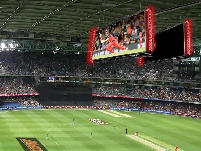 Melbourne Renegades Will Hang Jumbo Screens From Etihad