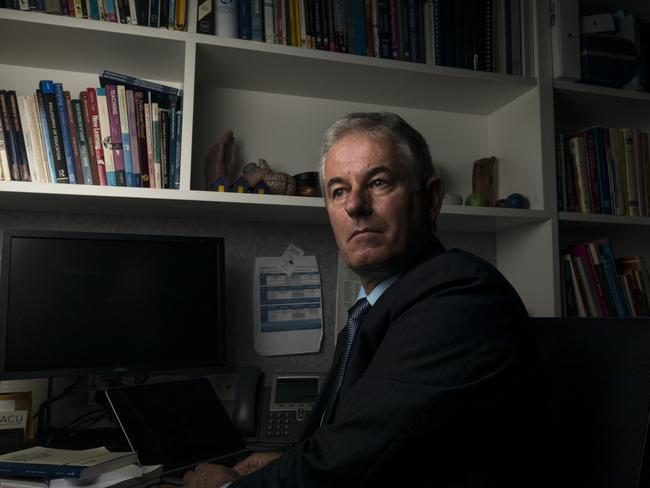 Associate Professor Philip Riley found alarming results in his research. Picture: Chris Hopkins