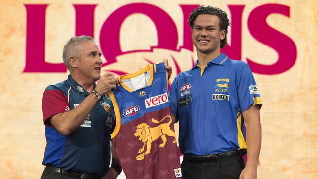 Cameron Rayner of the Brisbane Lions has re-signed.
