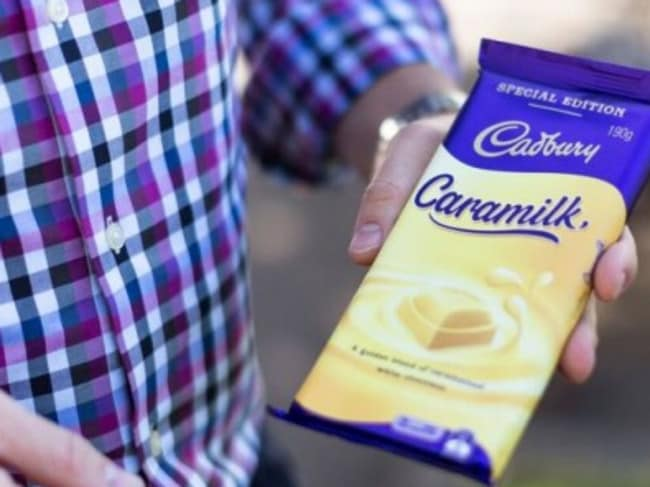 Cadbury Caramilk has been flying off the shelves. Picture: Supplied