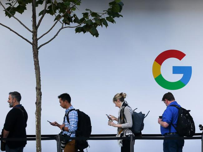 Even with Location History paused, some Google apps automatically store time-stamped location data without asking. Picture: AFP