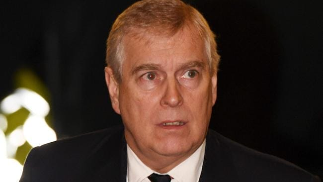 Prince Andrew has been axed from his royal duties. Picture: Stefan Rousseau/AFP